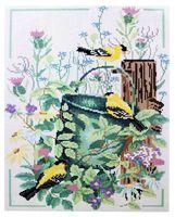 """Алмазная вышивка-мозаика """"Птички"""" (400x500 мм)"""