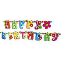 "Гирлянда для вечеринки ""Happy Birthday"""