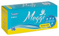 "Тампоны ""Meggi Twist Off Super"" (16 шт.)"
