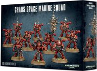 Warhammer 40.000. Chaos Space Marine. Squad (43-06)