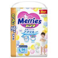 "Подгузники-трусики ""Merries L"" (9-14 кг; 56 шт.)"