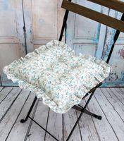 "Подушка на стул ""Ажур"" (35х35 см; белая)"