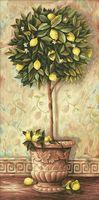 """Картина по номерам """"Лимонное дерево"""" (400x800 мм; арт. MY004)"""