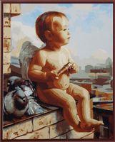 """Картина по номерам """"Малыш ангел"""" (400х500 мм)"""