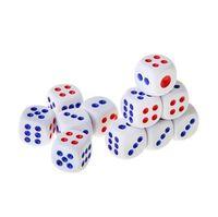 """Кубик D6 """"Самый простой"""" (белый)"""