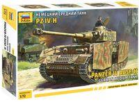 Немецкий средний танк Panzer IV Ausf.H (Т-IV H) (масштаб: 1/72)