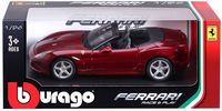 "Модель машины ""Bburago. Ferrari California T. Open Top"" (масштаб: 1/24)"