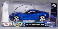 "Модель машины ""Chevrolet Corvette Stingray Coupe"" (масштаб: 1/24)"