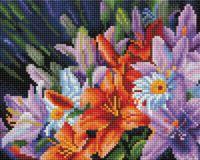 "Алмазная вышивка-мозаика ""Лилии из сада"" (200х250 мм)"