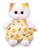 """Мягкая игрушка """"Кошечка Ли-Ли Baby в песочнике с лимонами"""" (20 см)"""