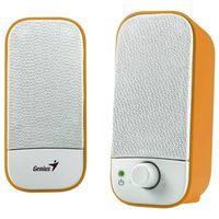 Колонки Genius SP-A120 (White/Orange)