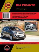 Kia Picanto с 2011 г. Руководство по ремонту и эксплуатации