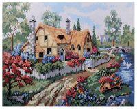 """Алмазная вышивка-мозаика """"Сельский дом"""" (400x500 мм; арт. 7713000)"""