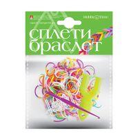 """Набор для плетения из резиночек """"Яркие. Двухцветные"""" (600 шт.)"""