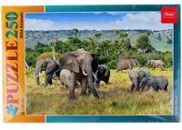 "Пазл ""Слоны в саванне"" (250 элементов)"