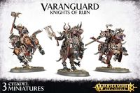 Warhammer Age of Sigmar. Everchosen. Varanguard Knights Of Ruin (83-51)
