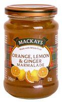 """Десерт фруктовый """"Mackays. Апельсин, лимон и имбирь"""" (340 г)"""