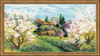 "Вышивка шерстяными нитками ""Яблоневый сад"" (арт. 1275)"