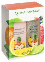 """Подарочный набор """"Aroma Fantasy. Фруктовый салат"""" (спрей, гель для душа)"""