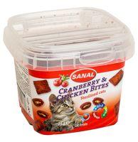 "Лакомство для кошек ""Cranberry and Chicken Bites"" (75 г)"