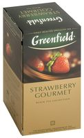 "Чай черный ""Greenfield. Strawberry Gourmet"" (25 пакетиков)"