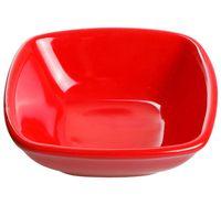 Салатник керамический (120 мм; красный)