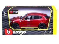 """Модель машинки """"Bburago. Alfa Romeo Stelvio"""" (маштаб: 1/24)"""