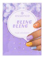 "Наклейки для дизайна ногтей ""Nail stickers"" тон: bling bling"