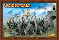 "Набор миниатюр ""Warhammer FB. Orc & Goblin Night Goblins"" (89-07)"