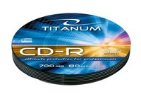 Диск CD-R 700Mb Titanum Bulk 10