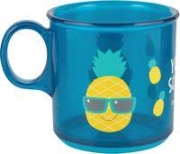 Чашка с антискользящим покрытием дна