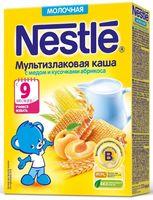 """Детская каша Nestle """"Мультизлаковая с медом и кусочками абрикоса"""" (220 г)"""