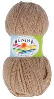 "Пряжа ""ALPINA. Alpaca trenza №12"" (50 г; 150 м; бежевый)"