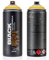 """Краска аэрозольная """"Black. Indian Spice"""" (желтая; 400 мл)"""