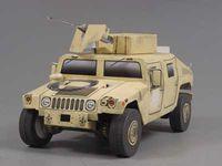 """Сборная модель из бумаги """"Hummer HMMWV (военный)"""""""