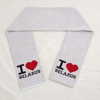 "Шарф ""I love Belarus"""