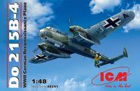 Германский самолет-разведчик Do 215B-4 (масштаб: 1/48)