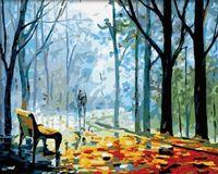 "Картина по номерам ""В парке"" (400x500 мм; арт. MG041)"