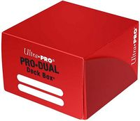 "Коробочка для карт ""PRO Dual Standard"" (180 карт; красная)"