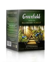 "Чай черный ""Greenfield. Royal Blueberry Forest"" (20 пакетиков)"
