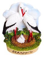 """Магнит на холодильник """"Беларусь. Аисты"""" (арт. 073)"""