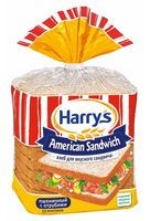 """Хлеб пшеничный """"American Sandwich. С отрубями"""" (515 г)"""