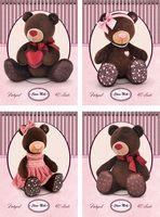 """Блокнот на спирали """"Bears Choco & Milk"""" (А7; 40 листов)"""