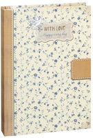 """Блокнот """"With love. Цветочный орнамент"""" (А5)"""