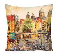 """Подушка """"Амстердам"""" (38x38 см; зелёная)"""