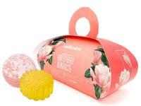 """Подарочный набор """"Цветочная история"""" (мыло, бомбочка для ванны)"""