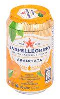 """Напиток газированный """"S. Pellegrino. Апельсин"""" (330 мл)"""