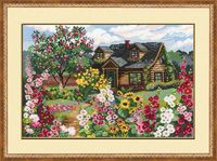 "Вышивка крестом ""Цветущий сад"" (380х260 мм)"