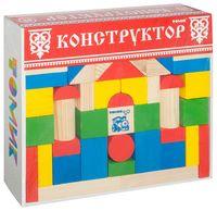 """Конструктор """"Цветной"""" (65 деталей)"""