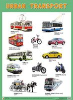 Urban Transport. Плакат